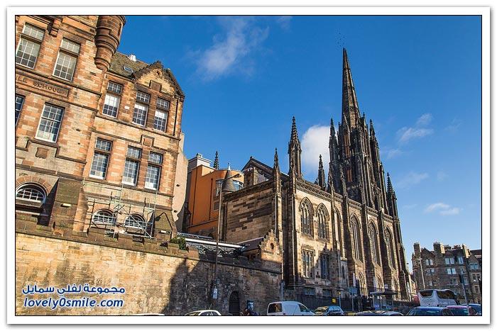 جولة على مدينة أدنبرة في اسكتلندا