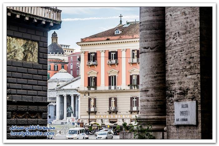 جولة في مدينة نابولي في إيطاليا