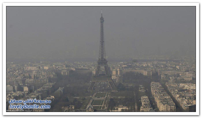 تلوث الهواء في بعض دول العالم