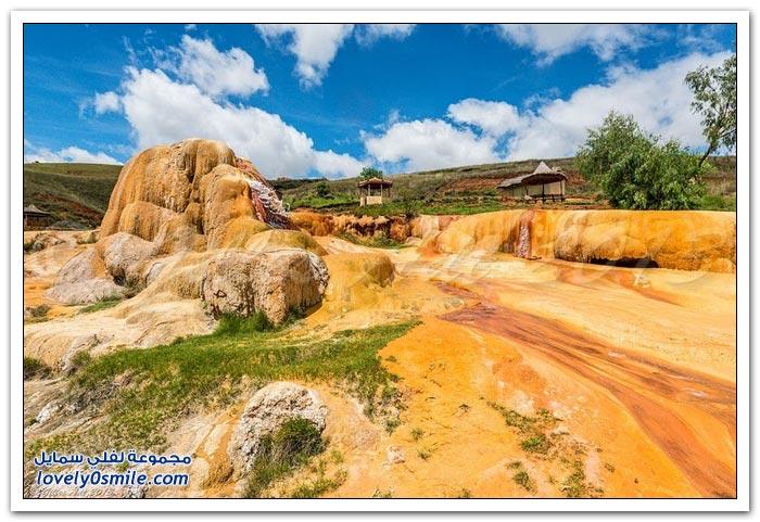 المياه الساخنة في مدغشقر