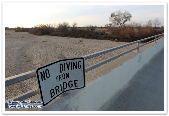 ارتفاع الحرارة وموجة الجفاف في كاليفورنيا