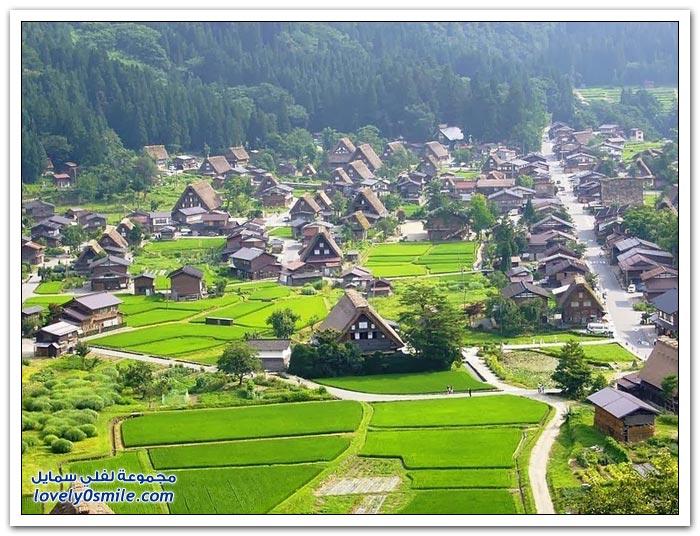 قرية شيراكاوا اليابانية