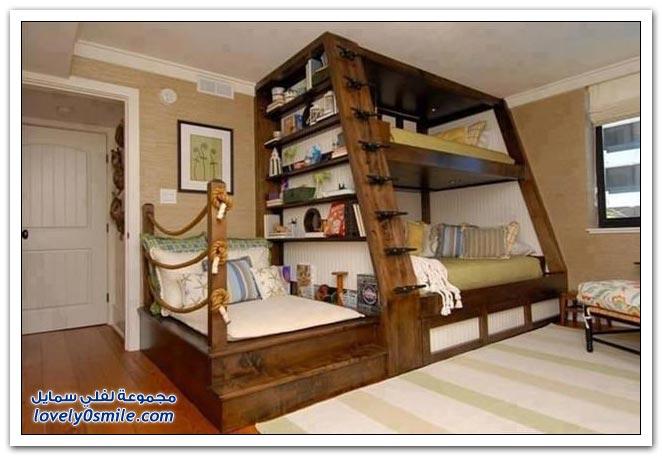 غرف نوم أطفال رائعة