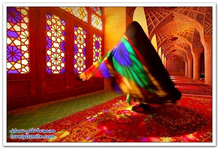 جامع ناصر الملك في شيراز بإيران
