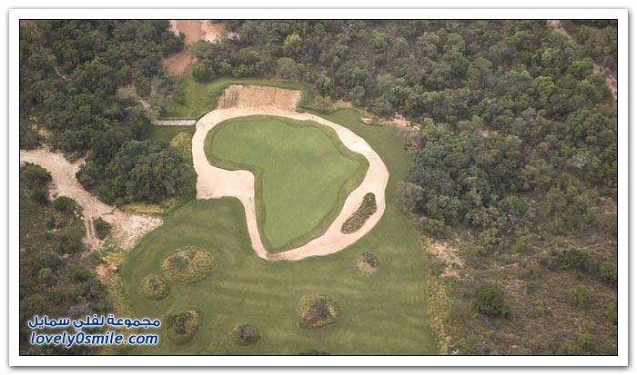 أغرب ملعب جولف في العالم