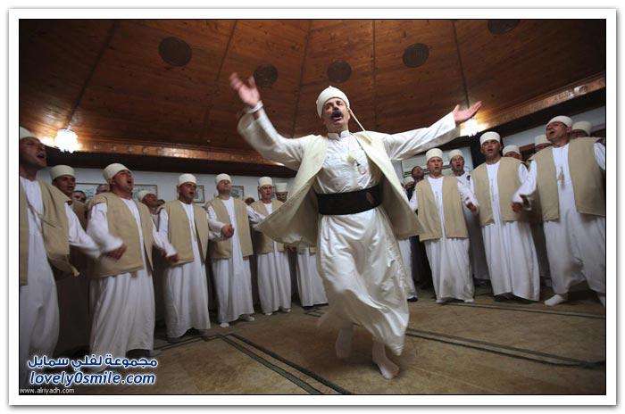 احتفال الدراويش بعيد النيروز