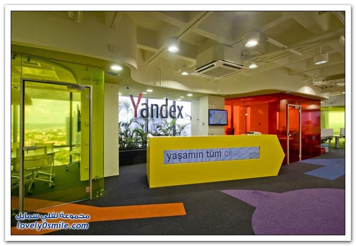 مكاتب استقبال بعض الشركات العالمية