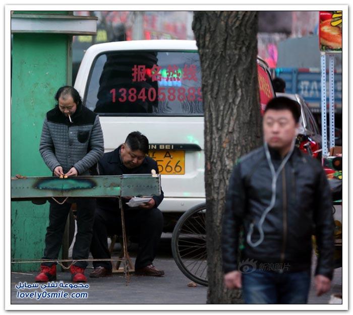 شبيه رئيس كوريا الشمالية كيم جونغ اون