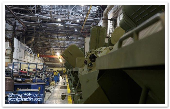 مصنع تجميع مدرعات روسية