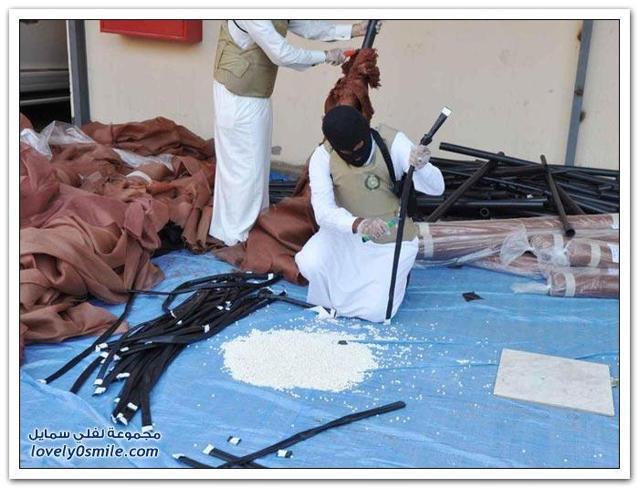 تورط 278 سعودياً بتهريب مخدرات بقيمة 2 مليار ريال
