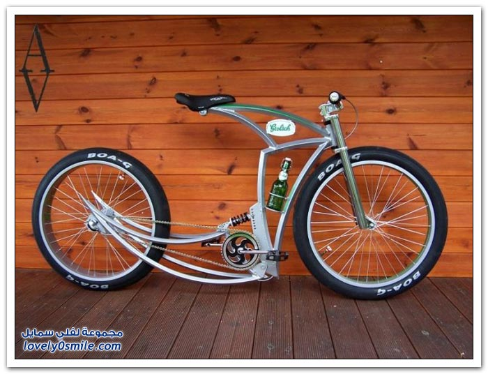 دراجات هوائية عجيبة وغريبة الشكل