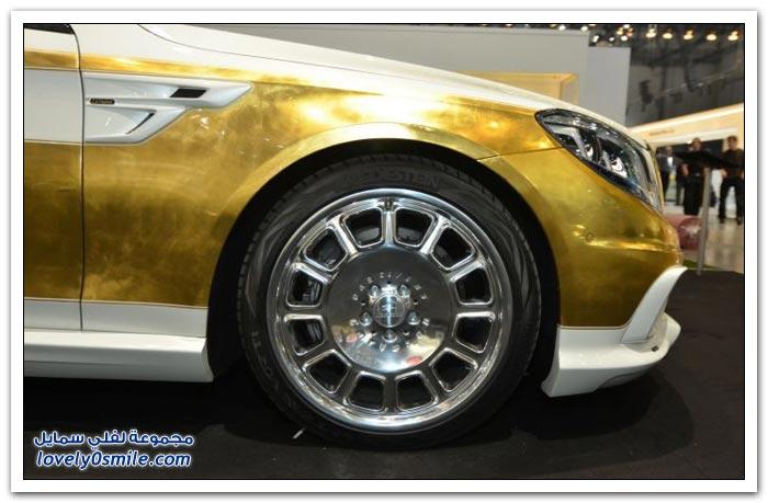 سيارة الملوك مرسيدس اس كلاس CS50 المعدلة Mercedes S-Class