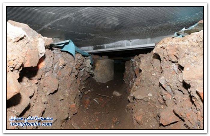 لصوص يحفرون نفقا طوله 15 مترا لسرقة صراف آلي في بريطانيا