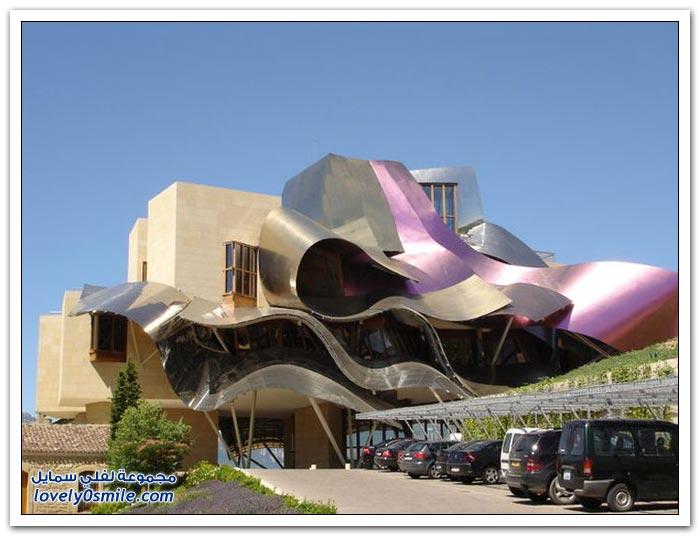 فندق ماركيز دي رسكال في أسبانيا