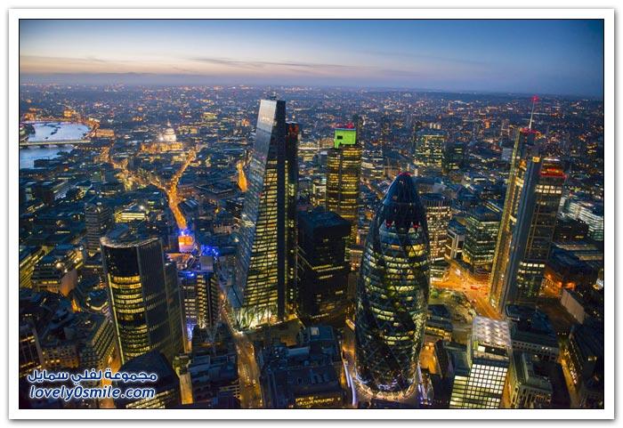 جولة جوية على لندن والمملكة المتحدة