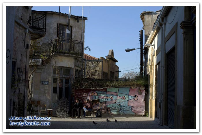المنطقة العازلة في قبرص مدينة للأشباح