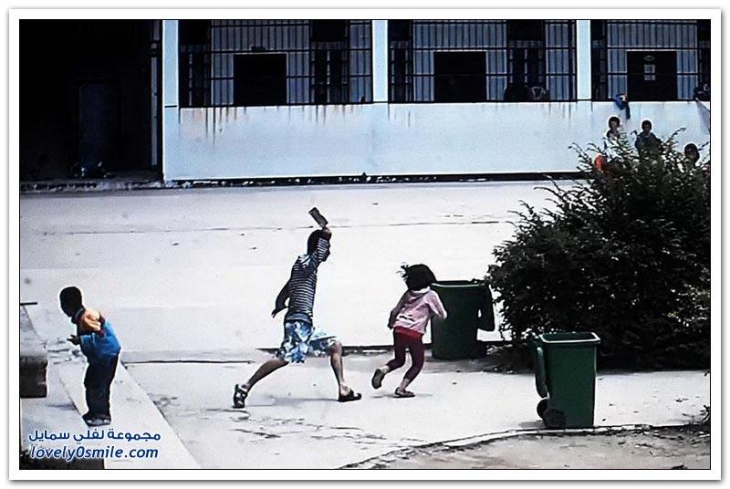 شاب يهاجم بساطور أطفال مدرسة ابتدائية في الصين
