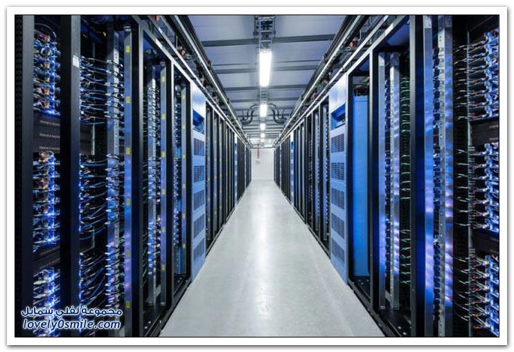 مراكز بيانات شركة الفيس بوك