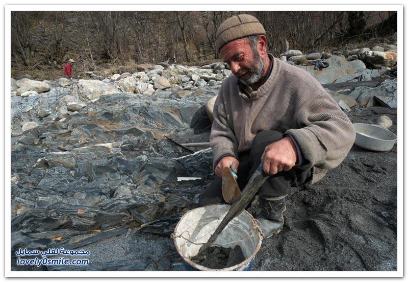 البحث عن الذهب في جورجيا
