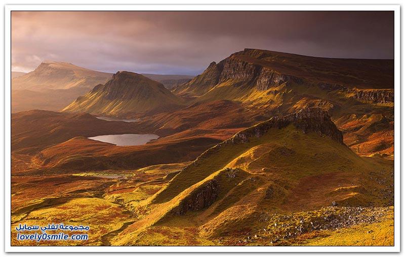 المناظر الطبيعية في اسكتلندا