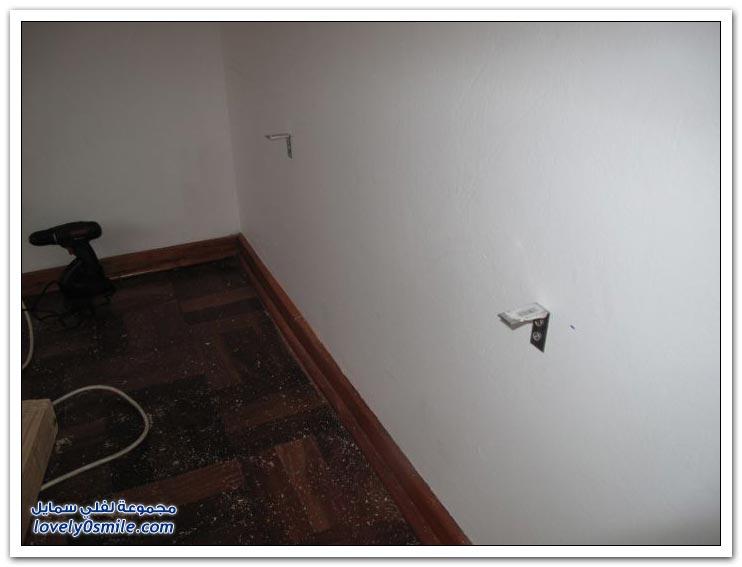 دمج غرفتين في غرفة واحدة