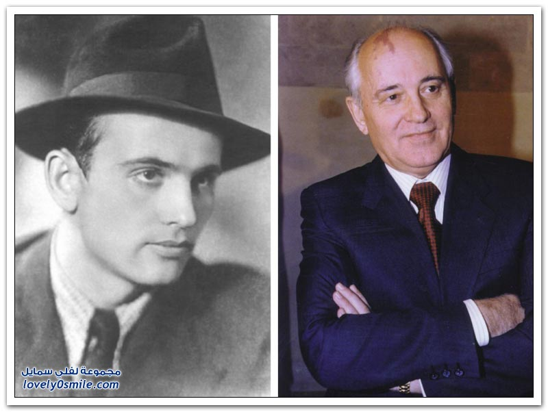 سياسيين ومشاهير بين الماضي والحاضر