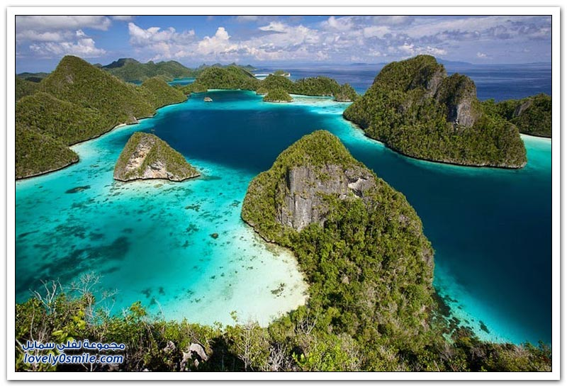 راجا أمبات جزيرة الفردوس المخفية