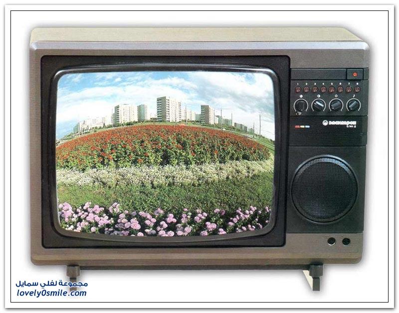 التلفزيونات أيام الإتحاد السوفيتي
