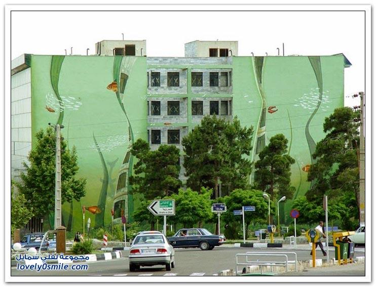 شارع الفن مشروع فني وثقافي لتلطيف صيف طهران