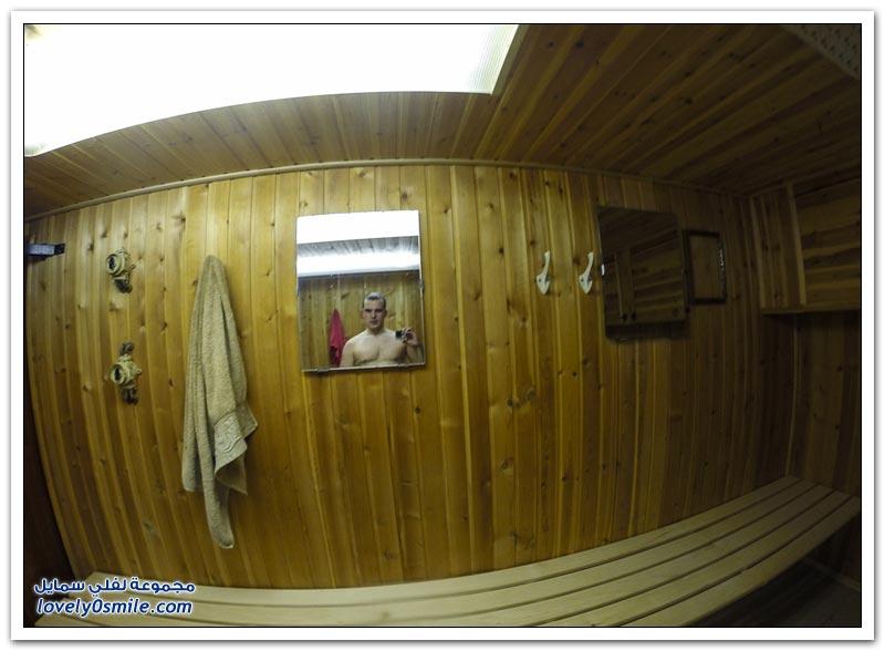 جولة داخل كاسحة جليد روسية