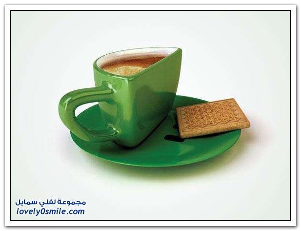 تصاميم رائعة لفناجين القهوة أو الشاي