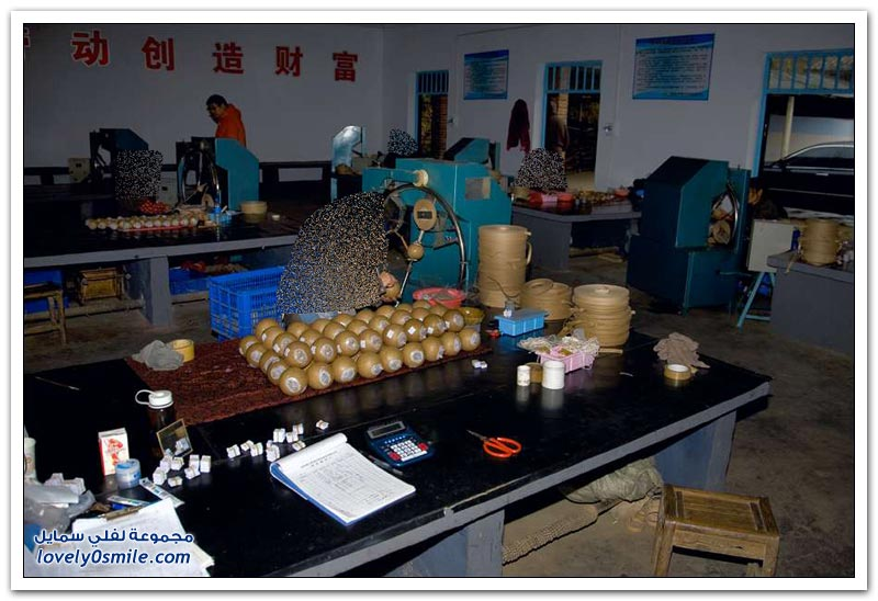 مصنع ألعاب نارية في الصين