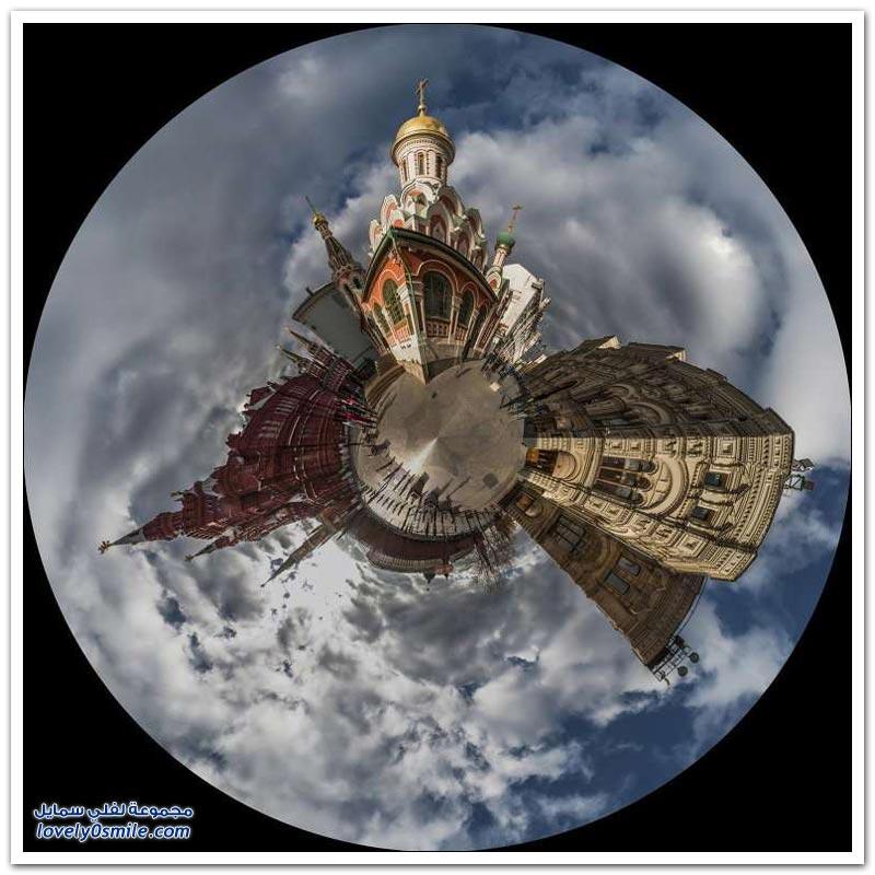 موسكو في صور غير عادية