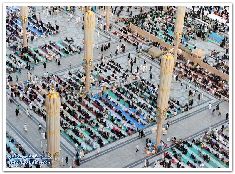 السفر الرمضانية بالمسجد النبوي
