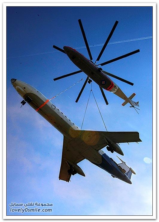 أكبر طائرة مروحية في العالم