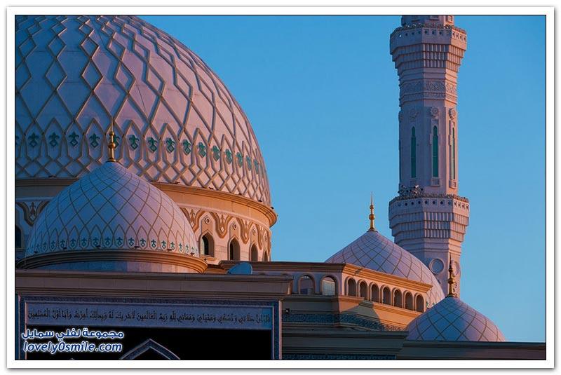 أكبر مسجد في آسيا الوسطى