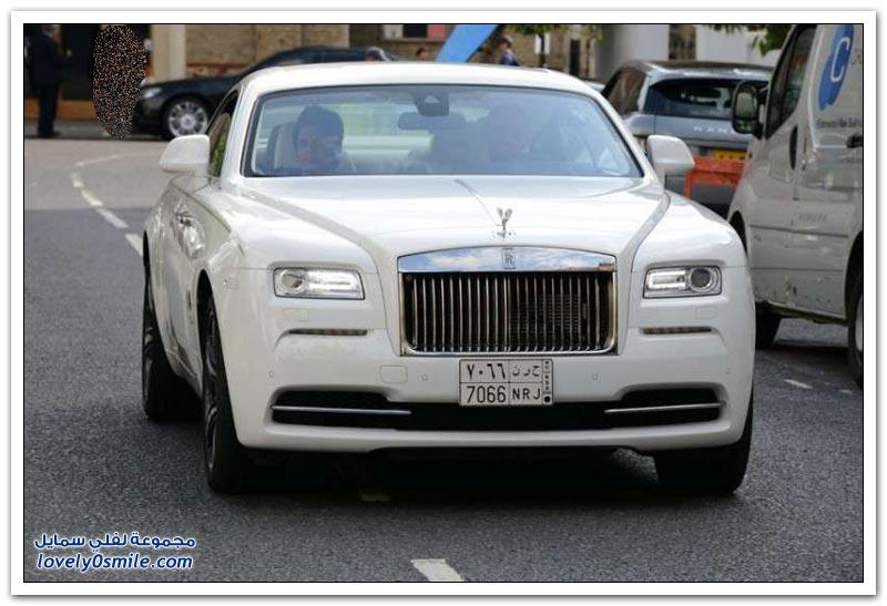 سيارات أغنياء العرب في شوارع لندن