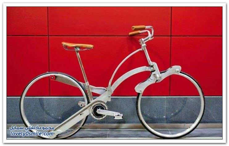 دراجة هوائية بحجم المظلة