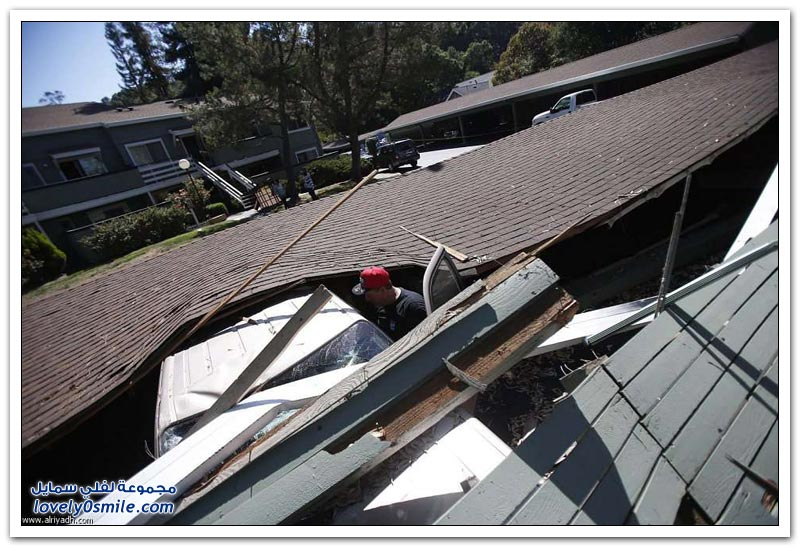 كاليفورنيا بعد الزلزال