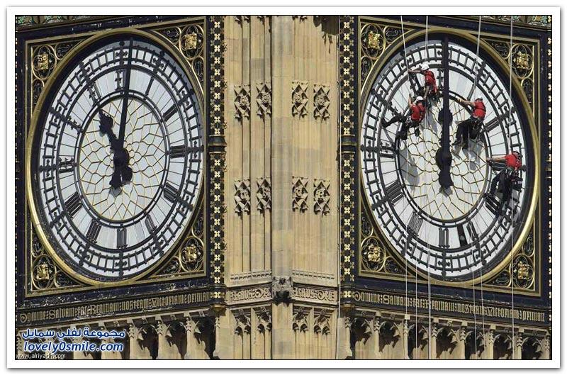 صيانة ساعة بيغ بن