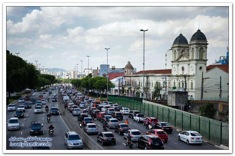 أكثر مدن العالم التي تشتكي من الاختناقات المرورية