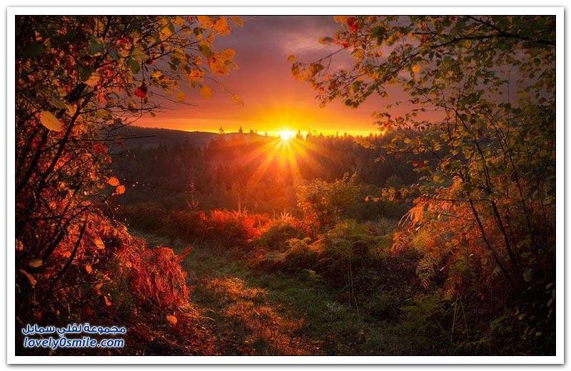 صور لشروق وغروب الشمس