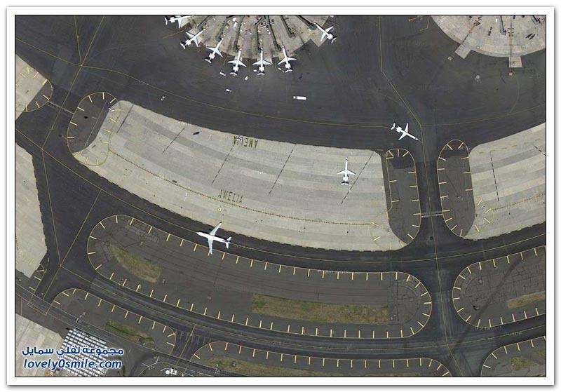 مدارج الطائرات حول العالم