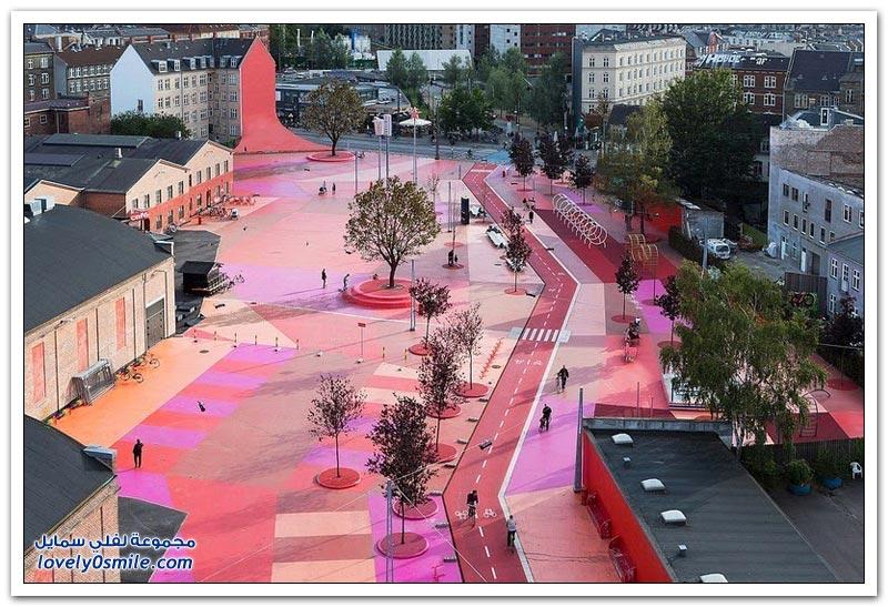 حديقة عامة في كوبنهاغن مع قطع أثرية من 60 دولة