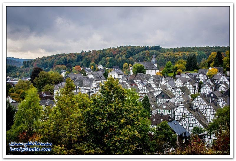 المنازل الخشبية الرائعة في فرويدنبرغ الألمانية