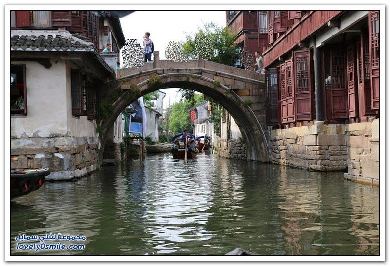 المدينة المائية في تشوتشوانغ