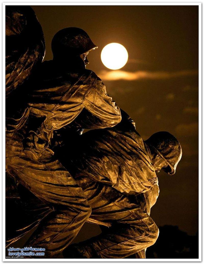 إطلالة القمر العملاق