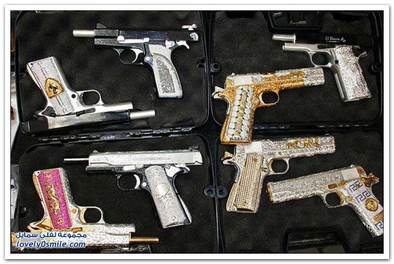 أسلحة أباطرة المخدرات في المكسيك