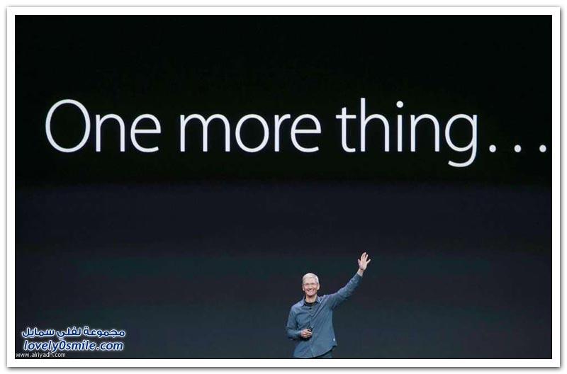 أبل تكشف عن آي فون 6 وساعتها الجديدة