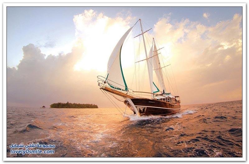 صور جميلة من جزر المالديف